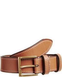 Cintura in pelle marrone chiaro