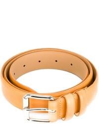 Cintura in pelle marrone chiaro di A.P.C.