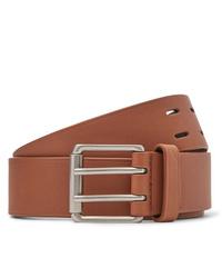 Cintura in pelle marrone chiaro di Bottega Veneta