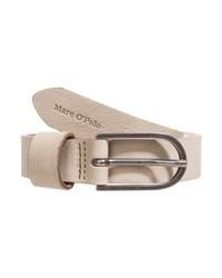 Cintura in pelle marrone chiaro di Marc O'Polo