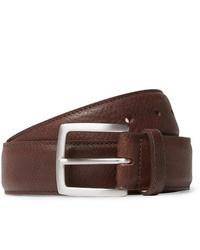 Cintura in pelle marrone scuro di George Cleverley