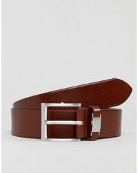 Cintura in pelle marrone di BOSS