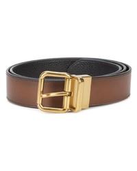 Cintura in pelle marrone di Coach