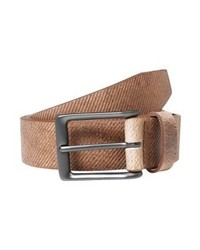 Cintura in pelle marrone di Lloyd Men's Belts