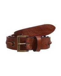 Cintura in pelle marrone di The Kooples Sport
