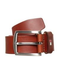 Cintura in pelle marrone di Tommy Hilfiger