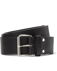 Cintura in pelle nera di A.P.C.