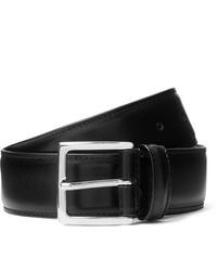 Cintura in pelle nera di ANDERSON'S