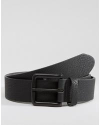 Cintura in pelle nera di ASOS DESIGN