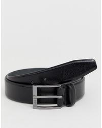 Cintura in pelle nera di BOSS