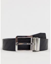 Cintura in pelle nera di Calvin Klein