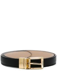 Cintura in pelle nera di Dolce & Gabbana