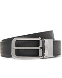 Cintura in pelle nera di Dunhill