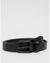 Cintura in pelle nera di Jack & Jones