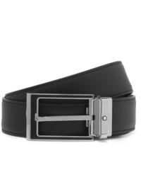 Cintura in pelle nera di Montblanc