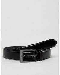 Cintura in pelle nera di New Look