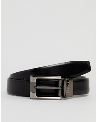 Cintura in pelle nera di Ted Baker