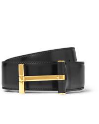 Cintura in pelle nera di Tom Ford