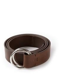 Cintura marrone scuro