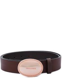 Cintura marrone scuro di Dsquared2