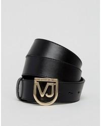 Cintura nera di Versace