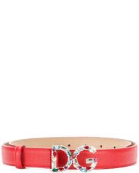 Cintura rossa di Dolce & Gabbana