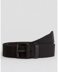 Cintura tessuta nera di Asos