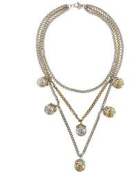 Collana argento di Alexander McQueen