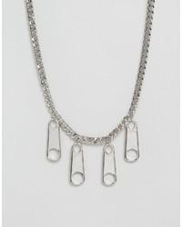 Collana argento di Cheap Monday