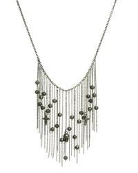 Collana con perline argento di Religion