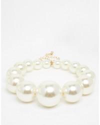 Collana di perle bianca di Asos