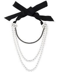 Collana di perle bianca di Lanvin
