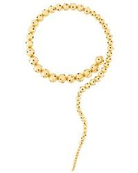Collana dorata di Paula Mendoza
