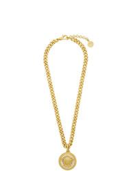 Collana dorata di Versace