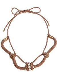 Collana marrone di Lanvin