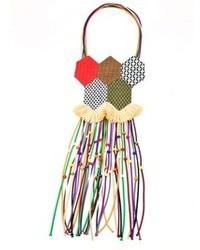 Collana multicolore