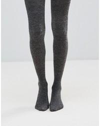 Collant di lana grigio scuro di Jonathan Aston