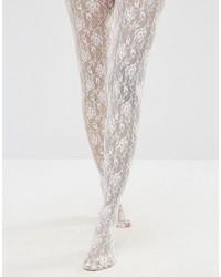 Collant stampato bianco di Jonathan Aston