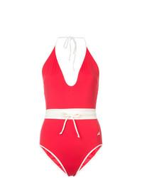 Costume da bagno rosso di Morgan Lane
