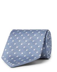 Cravatta a pois azzurra di Favourbrook