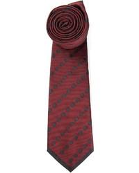 Cravatta a pois bordeaux di Valentino