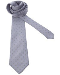Cravatta a pois grigia di Pierre Cardin
