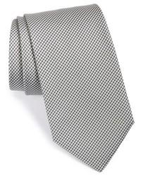 Cravatta a quadri grigia