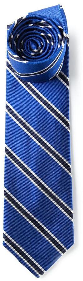 buy online db0e7 cd504 Cravatta a righe verticali blu di Polo Ralph Lauren