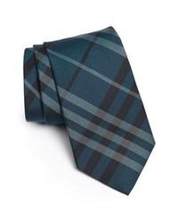 Cravatta a righe verticali foglia di tè