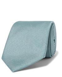 Cravatta azzurra di Giorgio Armani