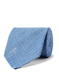 Cravatta azzurra di Rubinacci