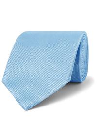 Cravatta azzurra di Tom Ford