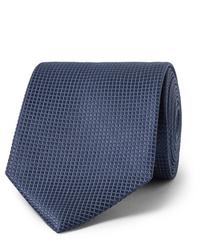 Cravatta blu scuro di Ermenegildo Zegna