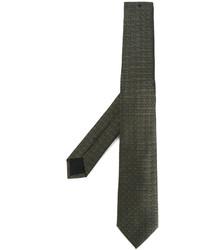 Cravatta con stelle verde oliva di Givenchy